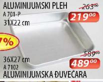 Aluminijumska đuvečara A7102