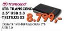 Externi Hard Disk TS1TSJ25D3 1TB 3.0