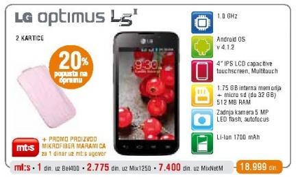 Mobilni telefon Optimus L5 II Dual Sim