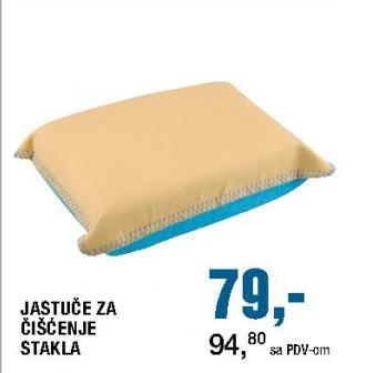 Jastuče za čišćenje stakla