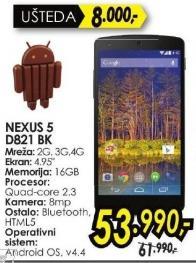Mobilni telefon Nexus 5 D821 Bk