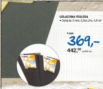 Izolaciona podloga 3mm