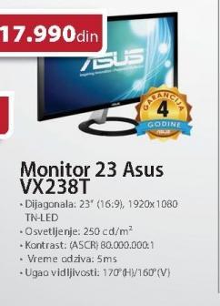 """Monitor LED 23"""" Vx238t"""