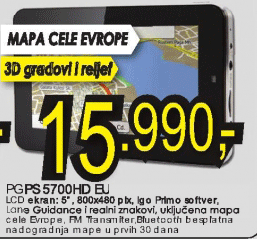 Navigator Pgps 5700Hd Eu