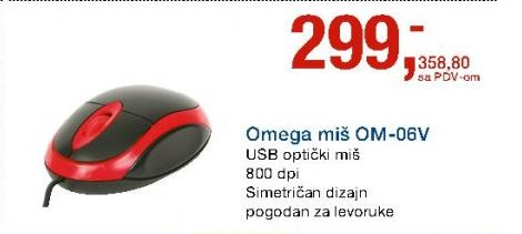 Omega miš OM-06V