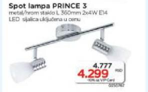 Spot lampa Prince 3