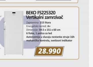 Zamrzivač FS225320