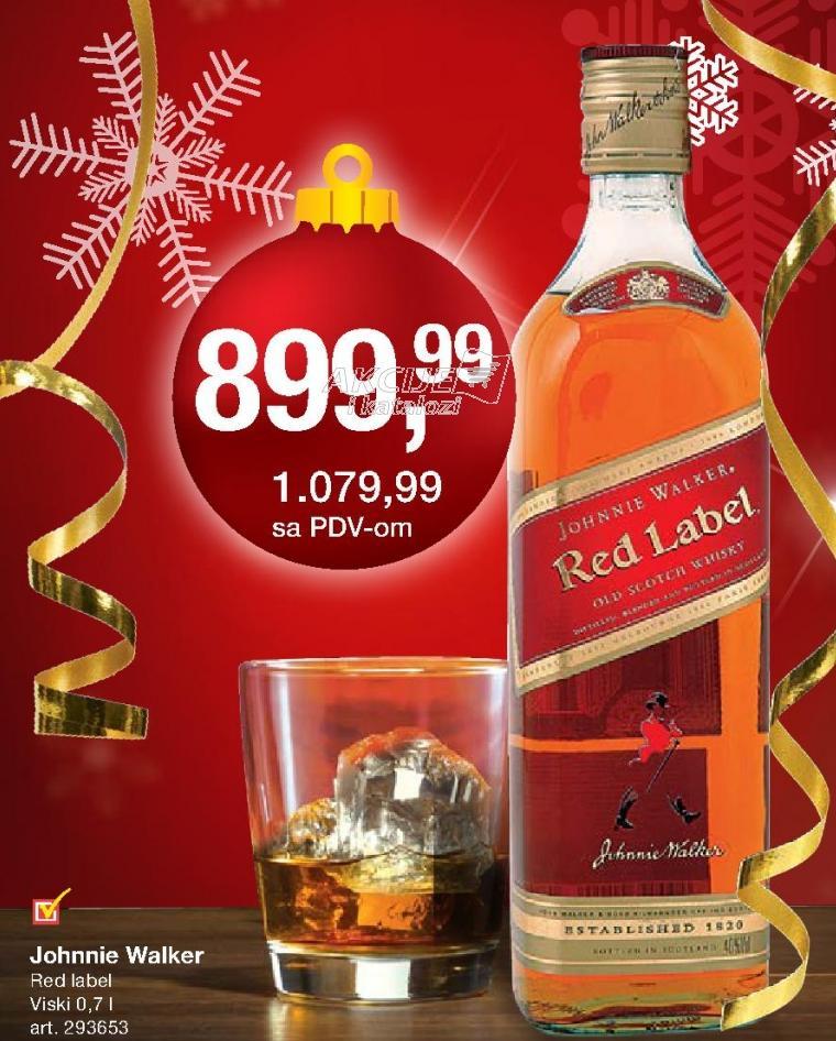 Viski Red label