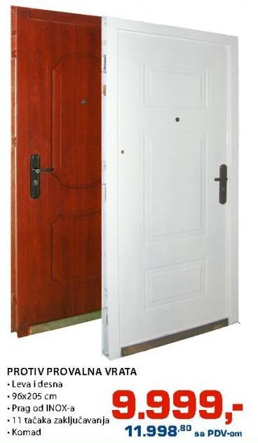 Protivprovalna vrata