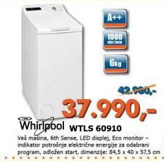 Veš mašina  WTLS 60910