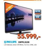 LED Televizor 39PFL3158
