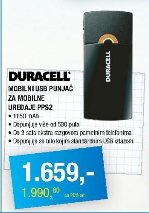 Mobilni USB punjač PPS2