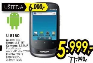 Mobilni telefon GSM U8180