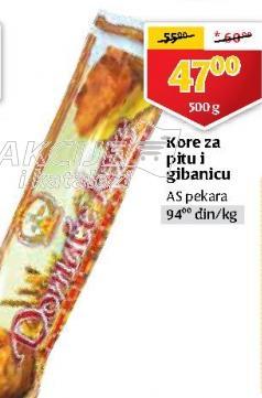 Kore za pitu