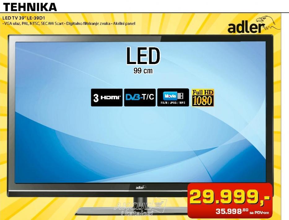 LED TV  LE-39D1