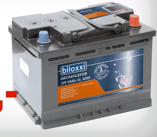 Akumulator Biloxxi  12V 55Ah