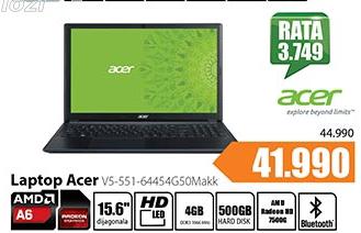 Laptop Aspire V5-551-64454G50Makk