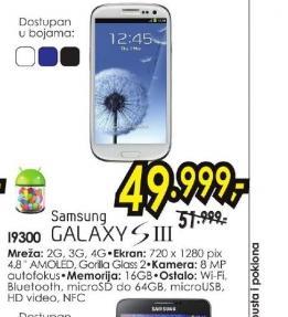 Mobilni telefon Galaxy S3 I9300