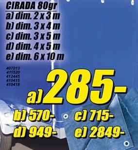 Cirada 4x5m