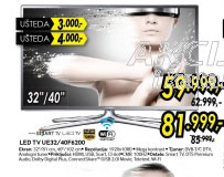 Televizor LED LCD UE-40F6200