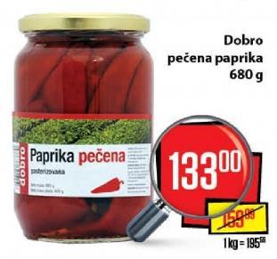 Paprika crvena pečena