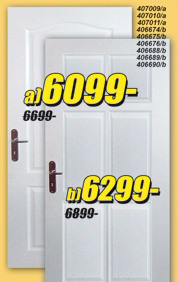 Sobna vrata bela