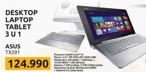 Laptop Transformer Book Trio  TX201LA CQ004H