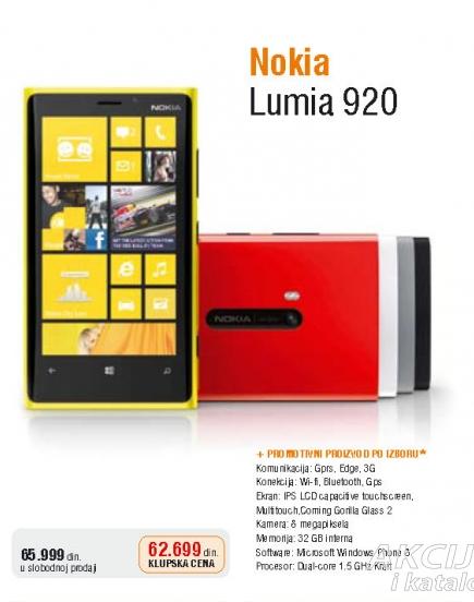 Mobilni telefon Lumia 920