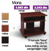 Komoda TV Mona
