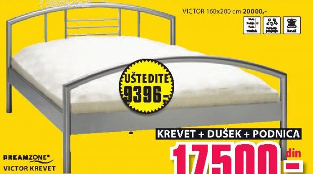 Krevet Viktor, 140x200cm