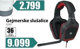Gejmerske slušalice g230