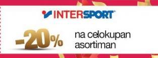 20% popusta u radnji InterSport