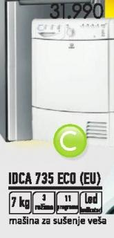 Mašina za sušenje veša Idca 735 Eco Eu