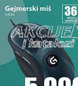 Miš gejmerski g400