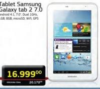 Tablet Galaxy Tab 2