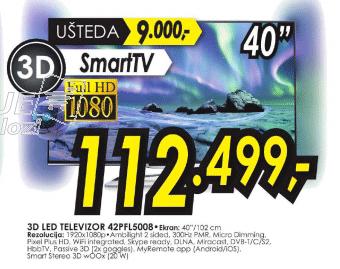 3D LED TV 42PFL5008