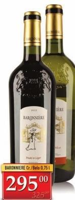 Crveno vino Baronniere Red