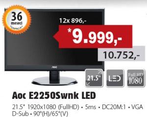 LED Monitor E2250Swnk