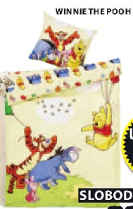 Dečja posteljina Winnie The Pooh
