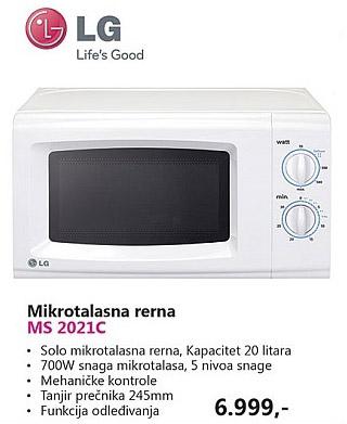 Mikrotalasna MS 2021C
