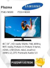 Plazma Televizor PS43-E490
