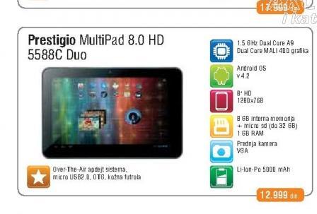 Tablet Multipad 5588c