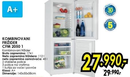 Kombinovani frižider Cfm 2050 1