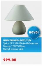 LAMPA STONA BELA 84257/11/56
