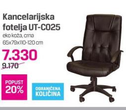 Kancelarijska stolica UT-C025