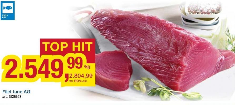 Riba tuna filet