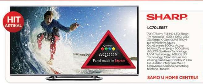 "televizor LED 80"" LC80LE857"