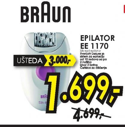 Epilator EE 1170