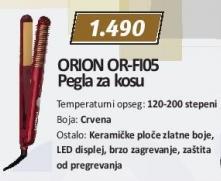 Pegla za kosu Or-Fi05 Orion