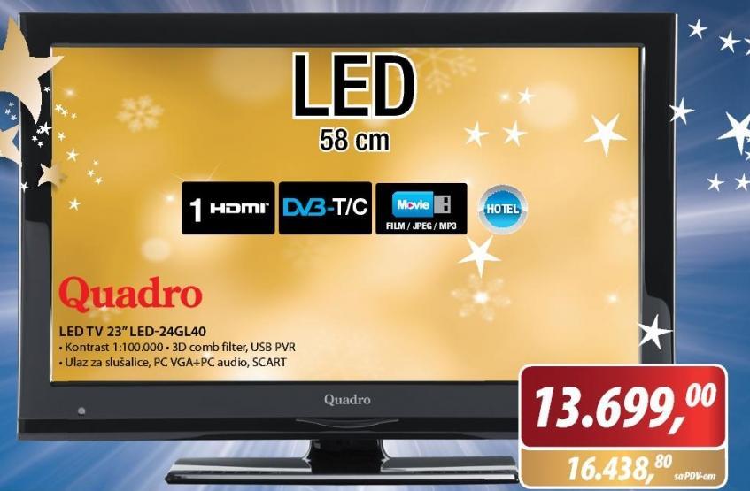 Televizor LED-24GL40